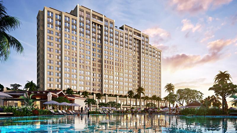 Cận cảnh  khu nghỉ dưỡng Holiday Inn Hồ Tràm sắp ra mắt