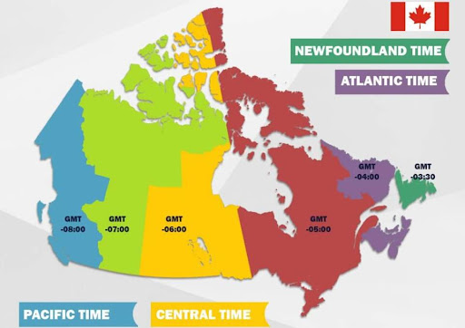 múi giờ montreal canada
